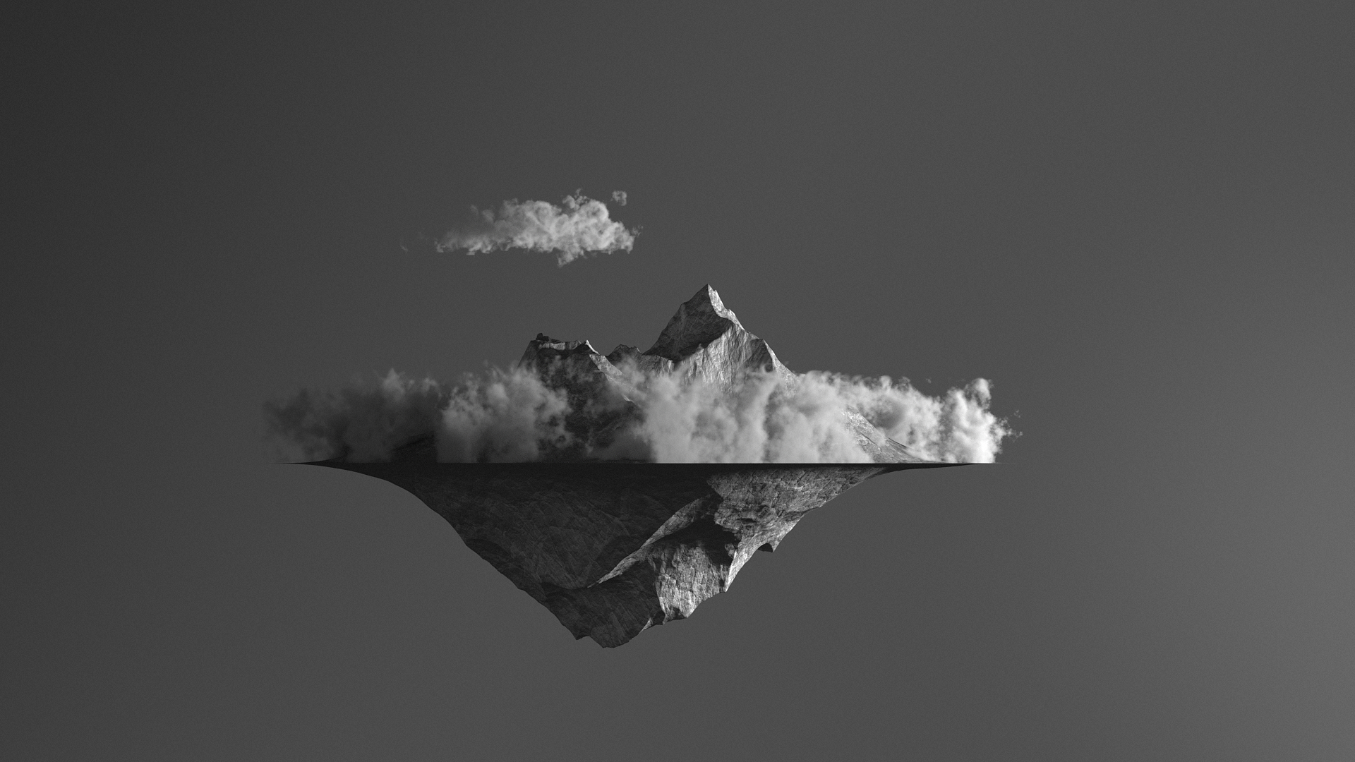 Volume Rendering with Octane Render for Cinema 4D - Generator - Floating Island #1