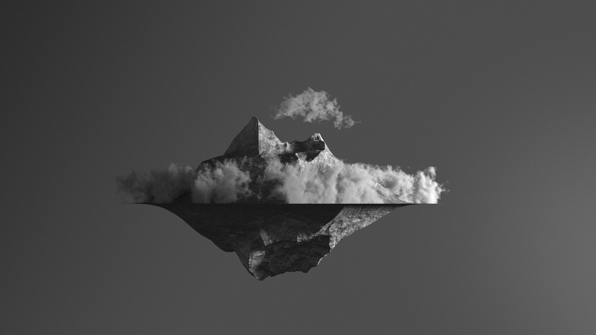 Volume Rendering with Octane Render for Cinema 4D - Volume Generator - Floating Island #2