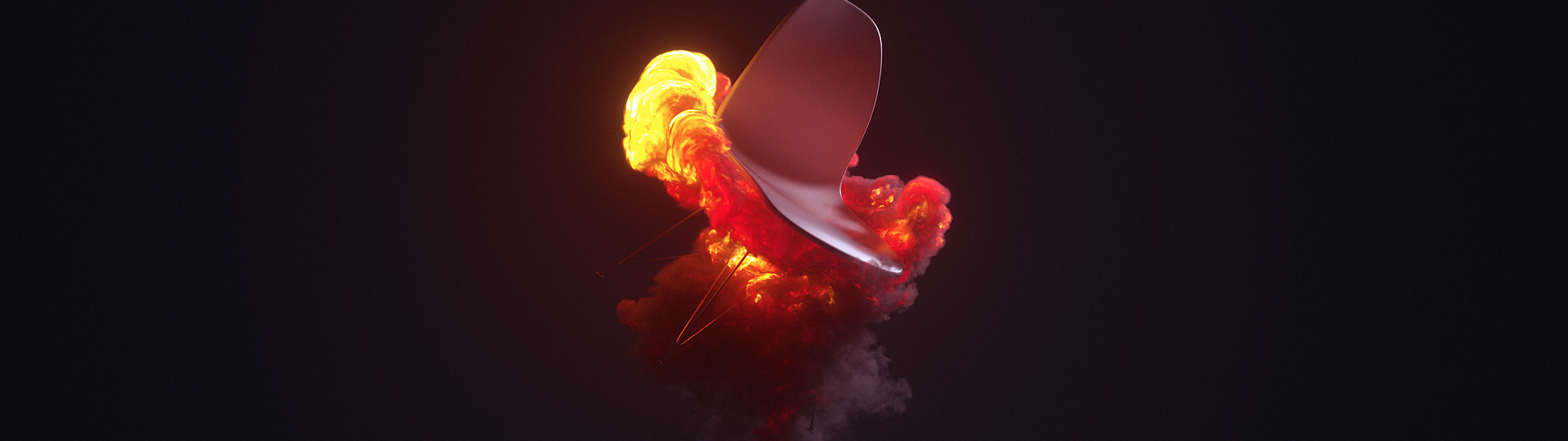 Volume Rendering with Octane Render for Cinema 4D - Turbulence FD - Chair Explosion #2