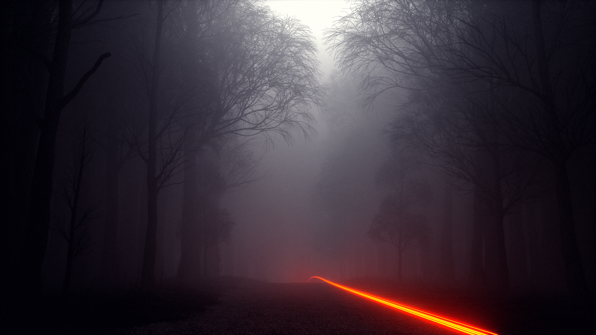 Volume Rendering with Octane Render for Cinema 4D - Foggy Forest #1