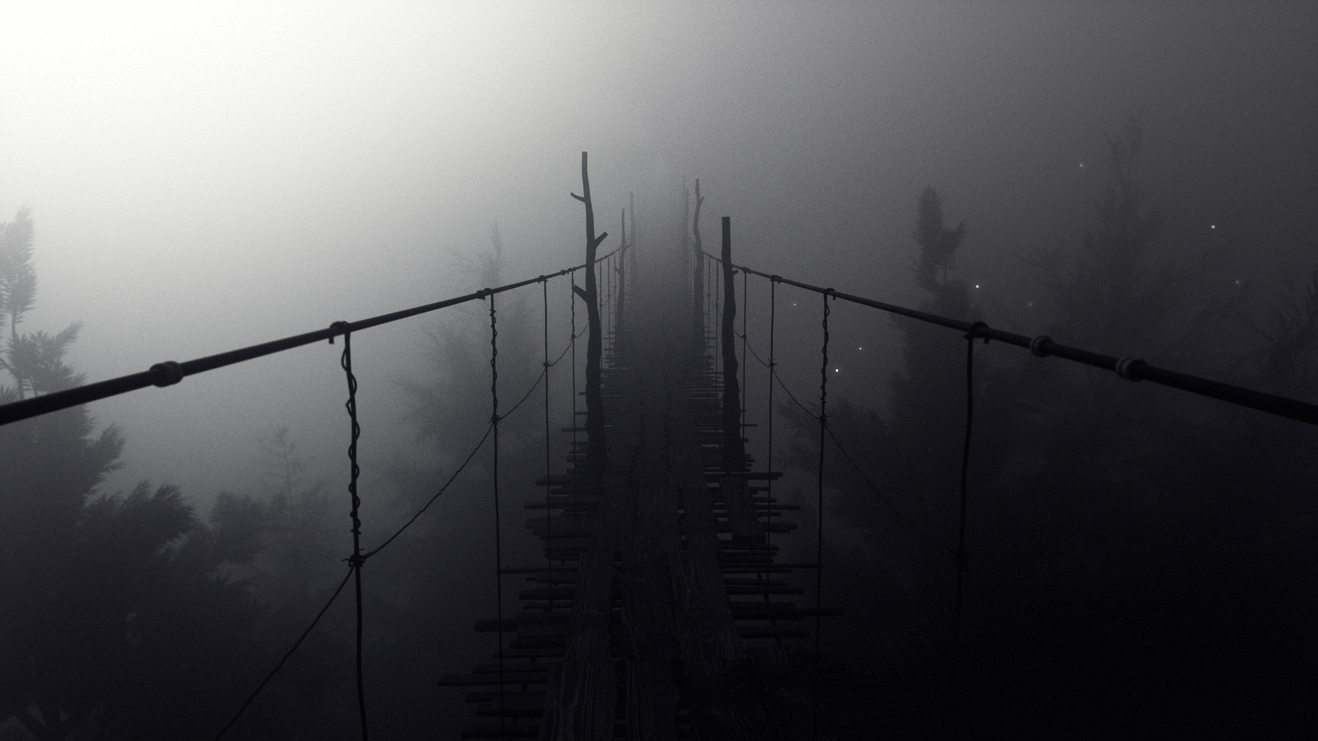 Volume Rendering with Octane Render for Cinema 4D - Foggy Bridge #1