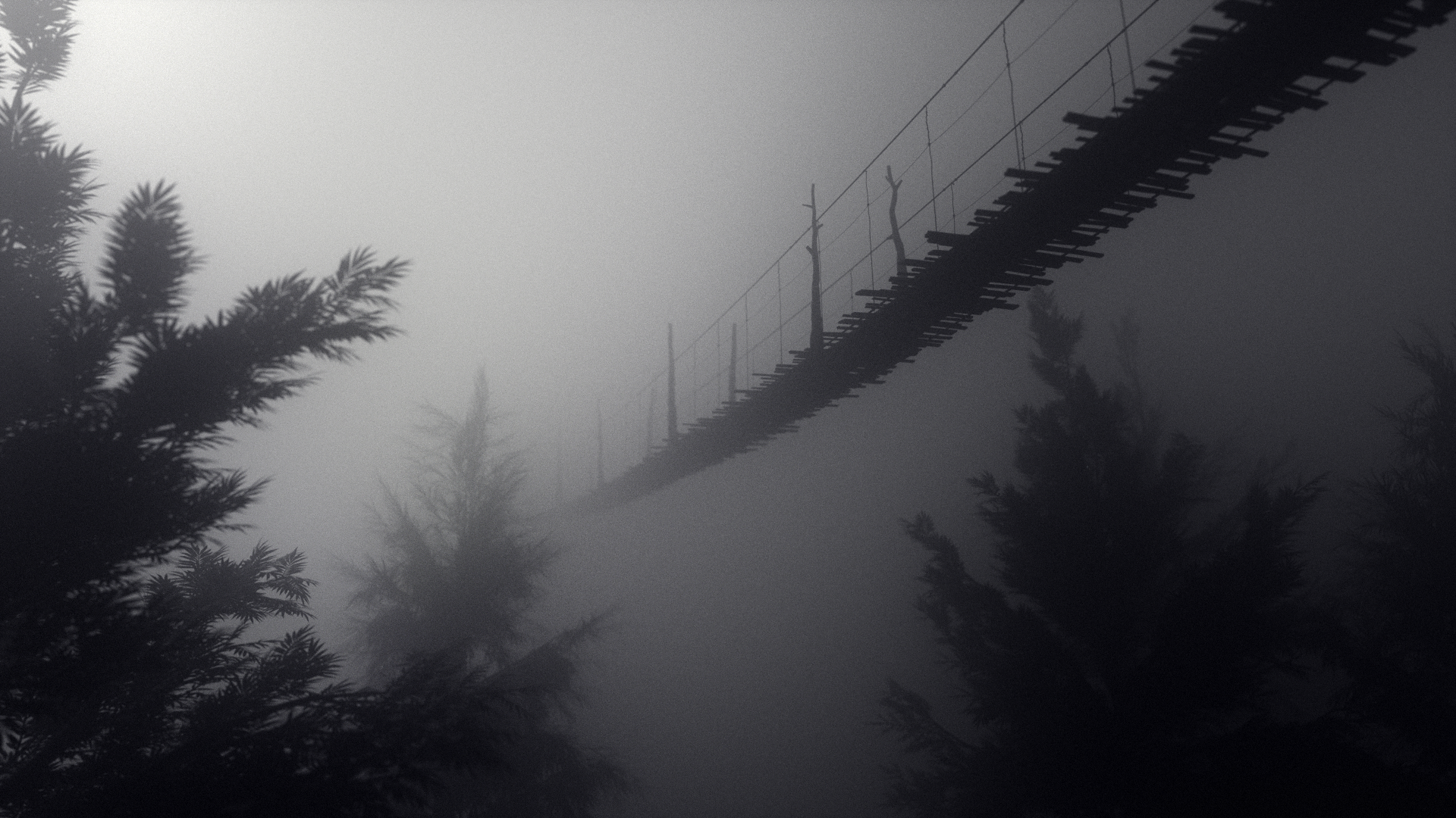 Volume Rendering with Octane Render for Cinema 4D - Foggy Bridge #2