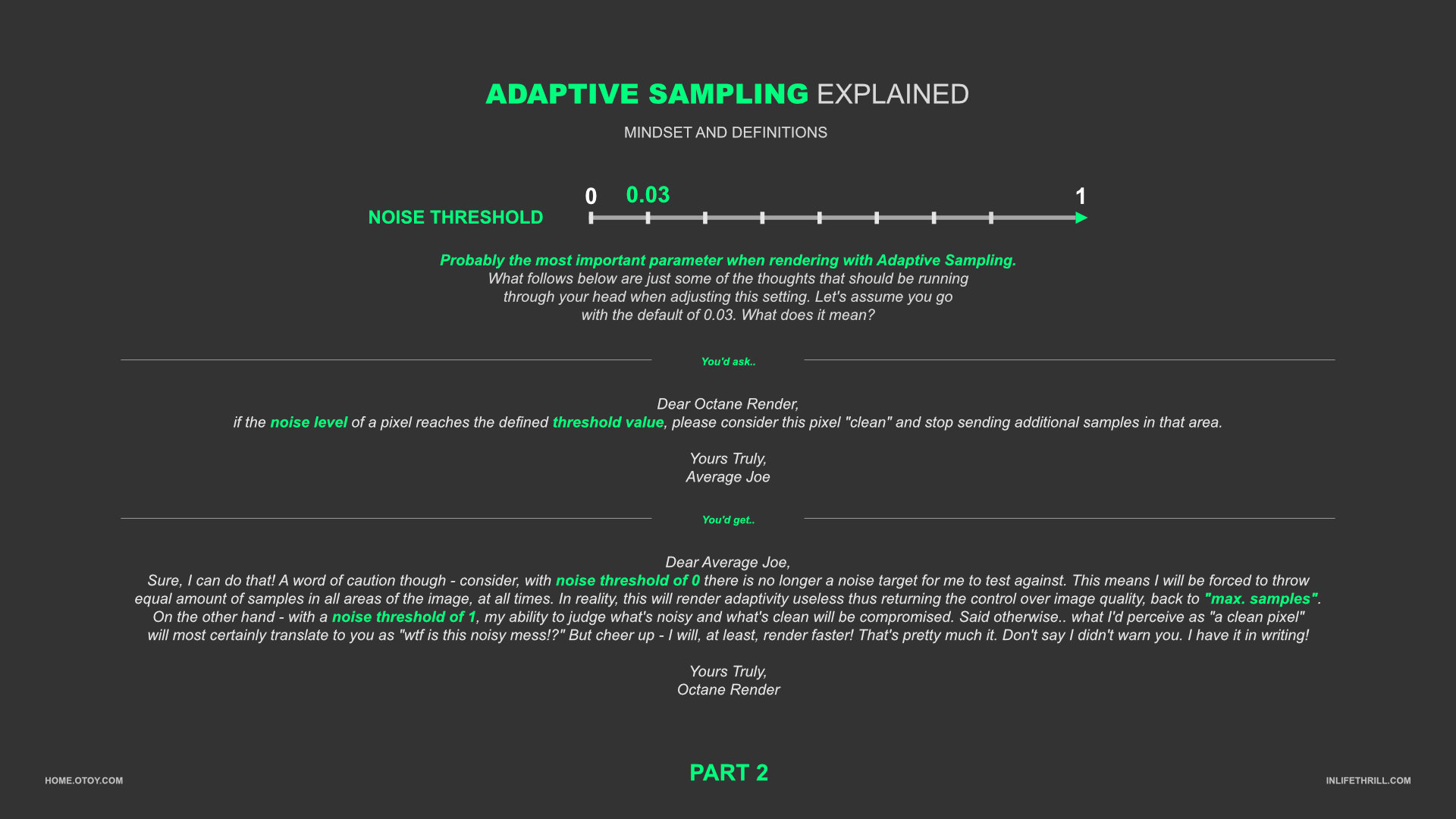 Adaptive Sampling Explained #2