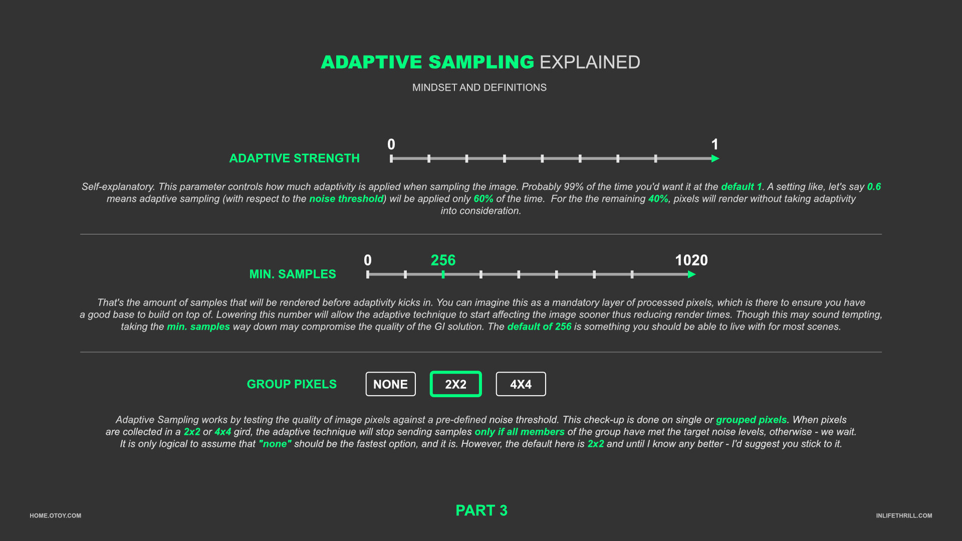 Adaptive Sampling Explained #3
