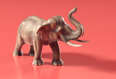 PhotoScanning an Elephant Toy with Agisoft