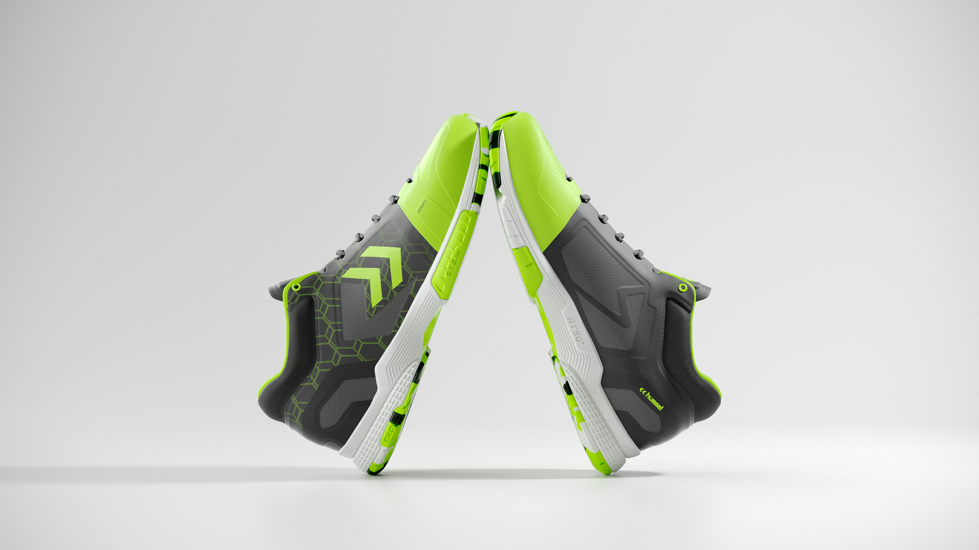 Hummel Aerocharge Green 01