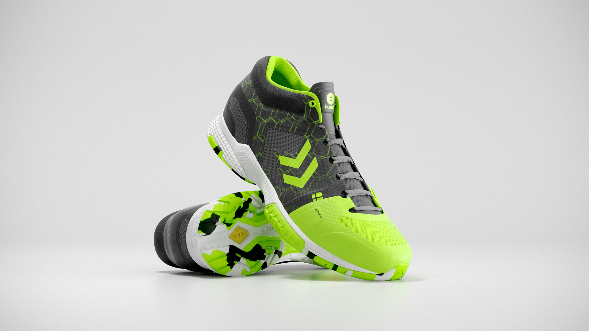 Hummel Aerocharge Green 02