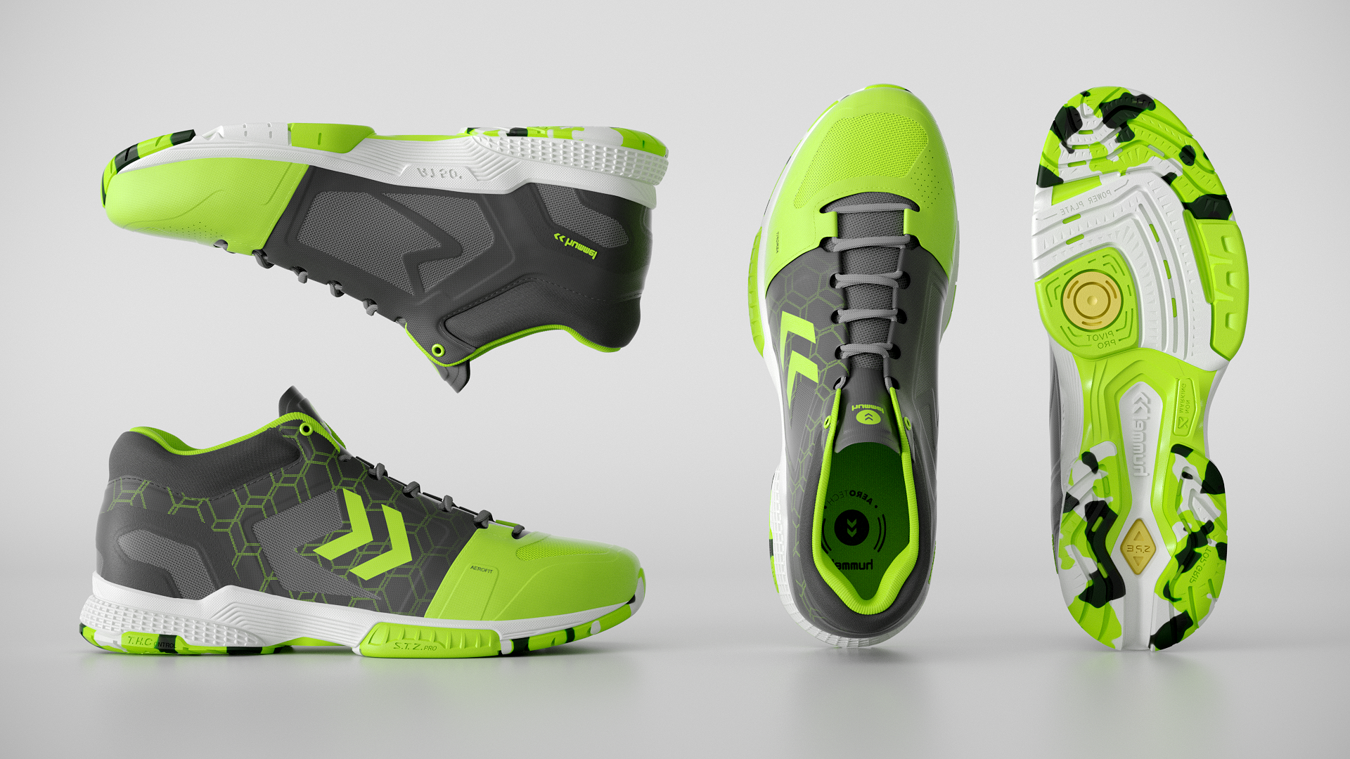 Hummel Aerocharge Green 05