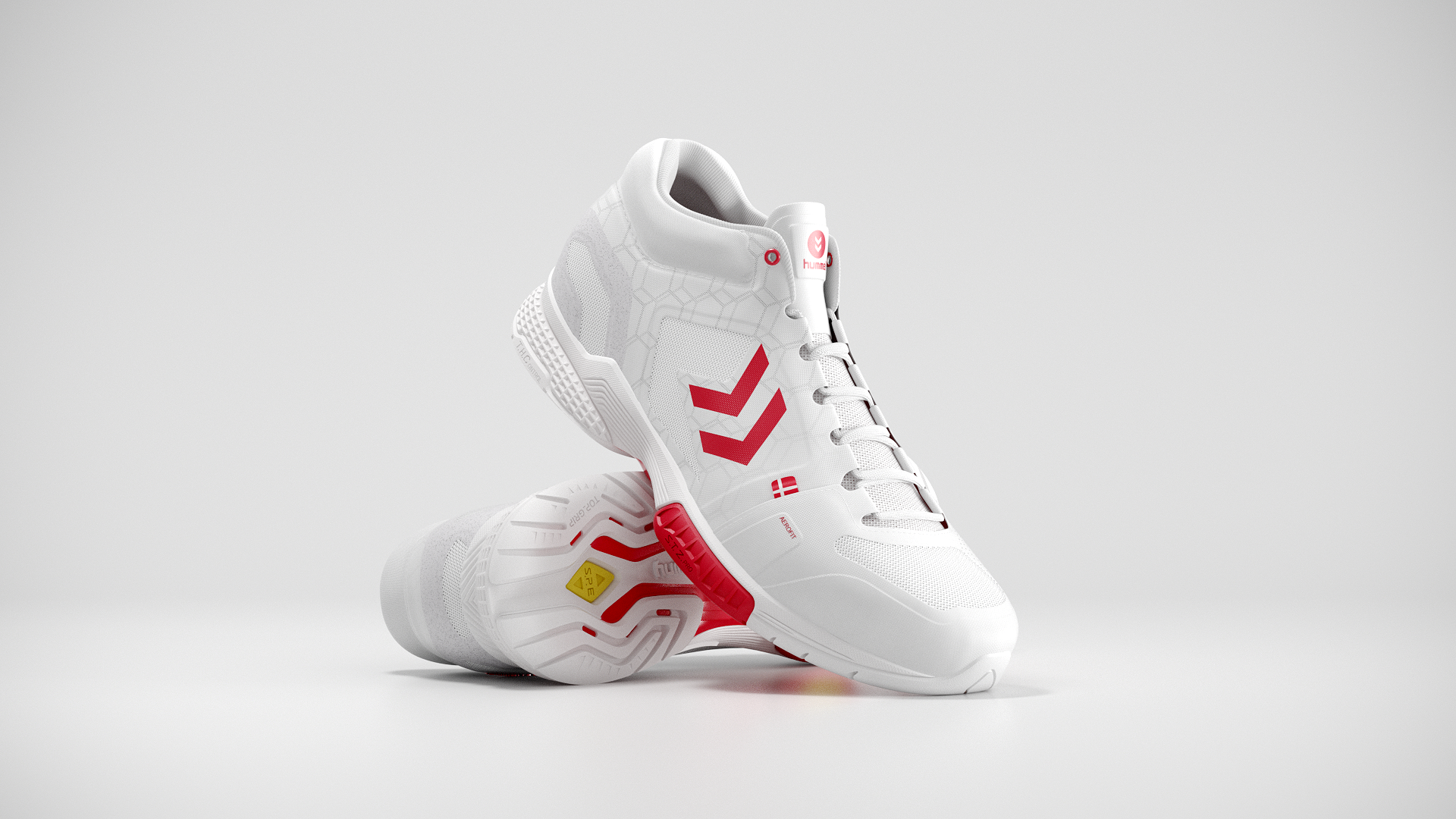 Hummel Aerocharge Red 02