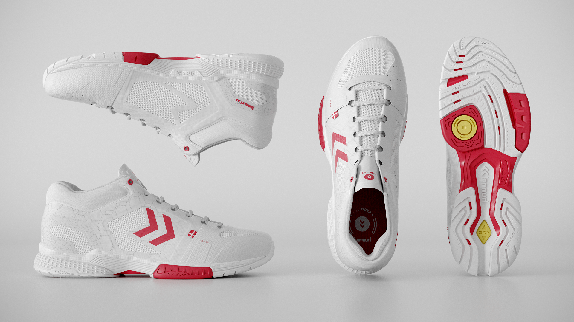 Hummel Aerocharge Red 05